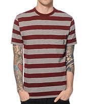 Brixton Hilt Stripe Pocket T-Shirt