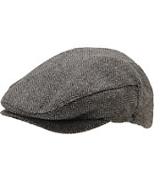 Brixton Hooligan Grey & Black Snap Cap