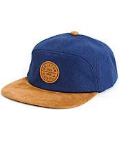 Brixton Oath 7 Panel Strapback Hat