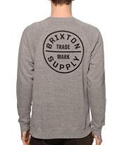 Brixton Oath Crew Neck Sweatshirt