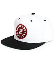 Brixton Oath III Snapback Hat