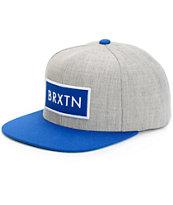Brixton Rift Snapback Hat