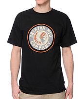 Brixton Rival Black T-Shirt