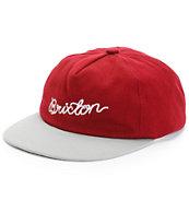 Brixton Robinson Strapback Hat