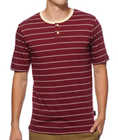 Brixton Townsend Stripe Henley T-Shirt