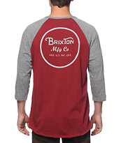 Brixton Wheeler Baseball T-Shirt