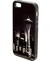 Buckle Down Seattle Night Skyline Black & White iPhone 5 Case