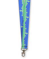 Buckle Down Seattle Skyline Lanyard