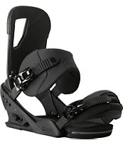 Burton Cartel ReFlex Black Snowboard Bindings