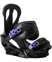 Burton Citizen Black 2014 Girls Snowboard Bindings
