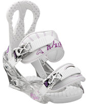 Burton Citizen Girls White 2013 Snowboard Bindings