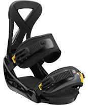 Burton Custom Black Snowboard Bindings
