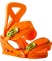 Burton Custom Orange ReFlex 2014 Snowboard Bindings