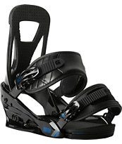 Burton Freestyle Black Snowboard Bindings