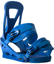 Burton Freestyle Blue Snowboard Bindings