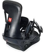 Burton Freestyle Matte Black Snowboard Bindings