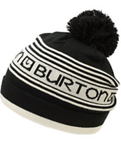 Burton Girls Trope Black & White Pom Beanie