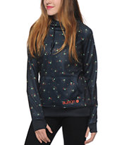 Burton Heron Leaf Dot Tech Fleece Hoodie