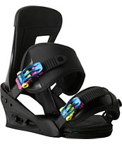 Burton Infidel Black Snowboard Bindings