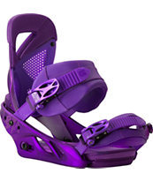 Burton Lexa ReFlex Purple 2014 Girls Snowboard Bindings