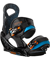 Burton Mission Smalls Black 2014 Kids Snowboard Bindings