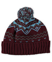 Burton Mountain Man Pom Beanie