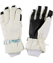 Burton Pele 2014 Girls White Under Gloves