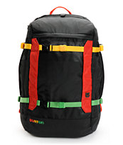 Burton Riders Black & Rasta Snowboard Backpack