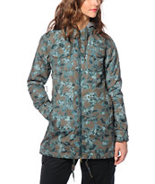 Burton Stella Shirt Kamana 10K Snowboard Jacket