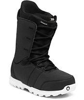 Burton Transfer Black & White Snowboard Boots