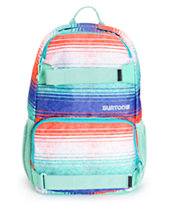 Burton Treble Yell Picnic Blanket Stripe Backpack