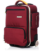 Burton Wheelie Flyer Crimson Roller Bag