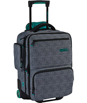 Burton Wheelie Flyer Pinwheel Weave Roller Bag