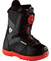 Burton Zipline Kids Black Snowboard Boots