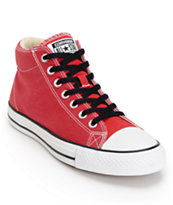 CTS Hi Chilli Red, White & Black Skate Shoe