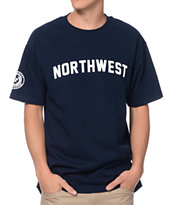 Cake Face College Navy Tee Shirt