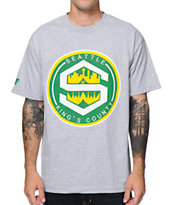 Cake Face Kings County Grey Tee Shirt