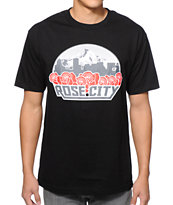 Cake Face Rose City Black Tee Shirt