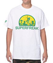 Cake Face Superfreak White Tee Shirt