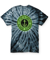 Captain Fin Anchor Button Tie Dye T-Shirt