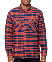 Captain Fin Earl Quilted Flannel Shirt