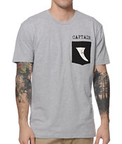 Captain Fin Fin Pocket Tee Shirt
