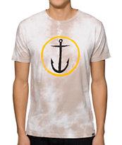 Captain Fin Original Anchor Tie Dye T-Shirt