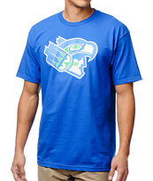 Casual Industrees 12th Man Blue Tee Shirt