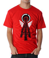 Casual Industrees Alpha Red Tee Shirt