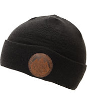 Casual Industrees Alps Black Fold Beanie