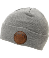 Casual Industrees Alps Grey Fold Beanie