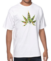 Casual Industrees Bud Skyline White Tee Shirt