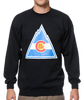 Casual Industrees CO Rockies Crew Neck Sweatshirt
