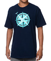 Casual Industrees Compass Blue Tee Shirt